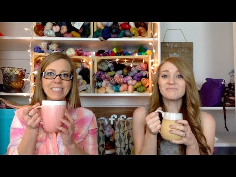 The Girls in the Yarn Cafe: Thirty Fifth Cup