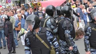 Митинг против коррупции на Тверской улице. Москва. 12 июня 2017