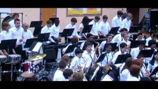 Mallet Maniacs -- The 2009 BMS 8th Grade Band