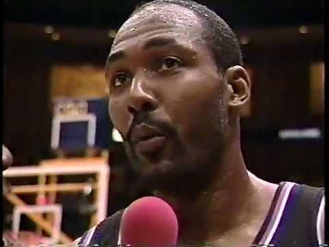 Jazz at Lakers - 2/7/99 (Highlights)