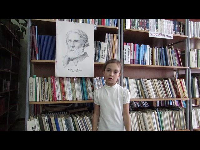 Изображение предпросмотра прочтения – МаргаритаЗверева читает произведение «Весенний вечер» И.С.Тургенева