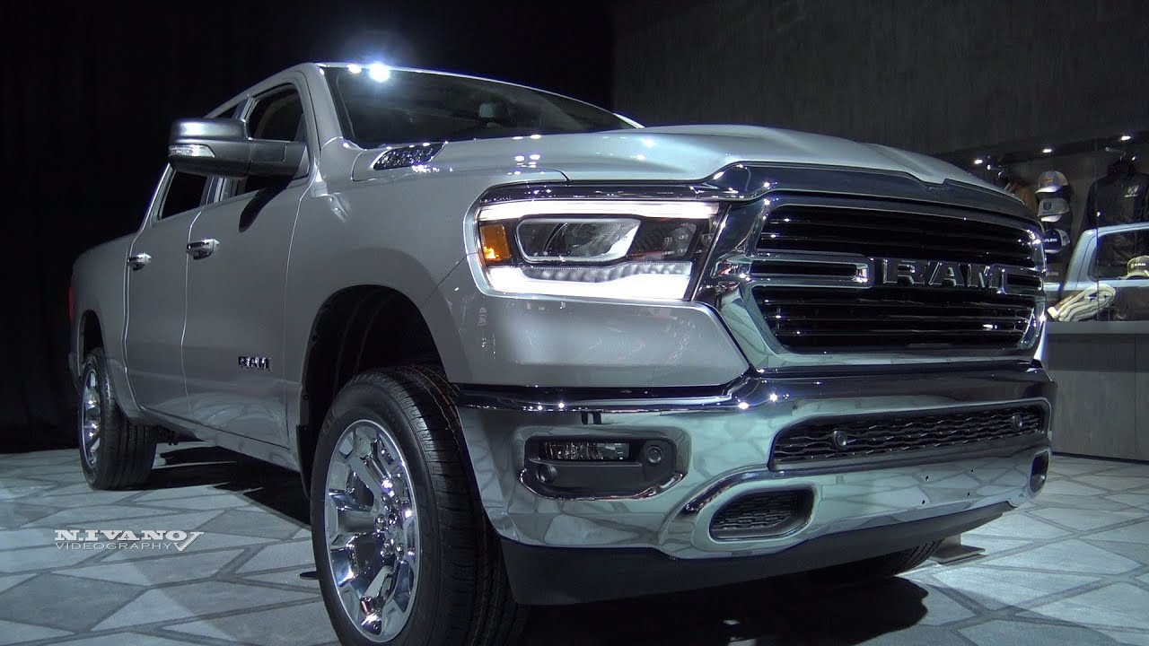 2019 Ram 1500 Big Horn Exterior And Interior Walkaround 2018 Detroit Auto Show