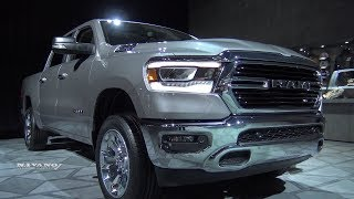 2019 RAM 1500 Big Horn - Exterior And Interior Walkaround - 2018 Detroit Auto Show