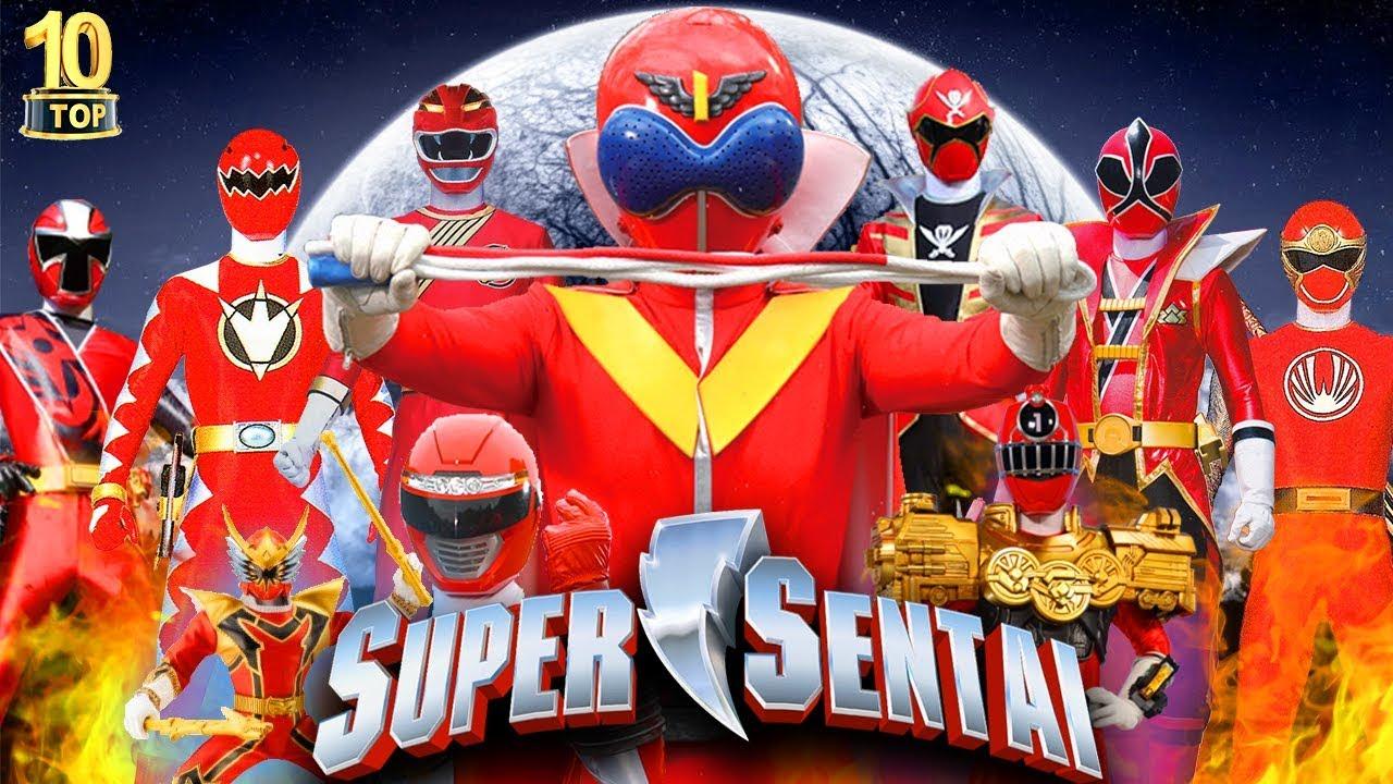 10 Siêu Nhân Đỏ Mạnh Nhất Trong Siêu Chiến Đội Super Sentai