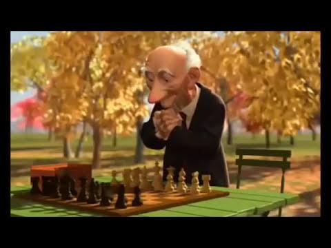 Court métrage d'animation 3D Pixar Geri's Game
