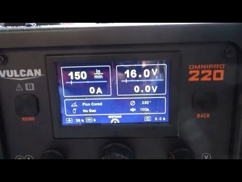 Vulcan Omni Pro 220 Tig Set Up | FunnyCat TV