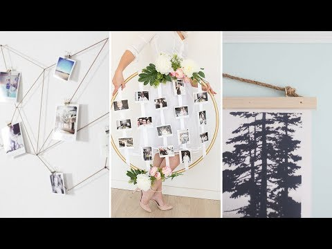 10 Clever Picture Hanging Ideas Without Frame