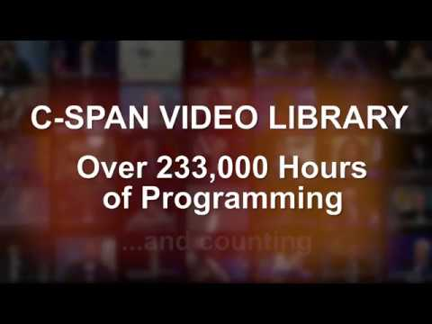 C-SPAN Video Library - 30 Years of History
