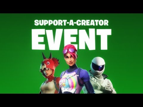 How To Support A Creator & How To Be A Fortnite Creator
