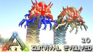 ARK: SURVIVAL EVOLVED - MEGA DEATH SAND WORMS !!! | PUGNACIA DINOS EBENUS ASTRUM E10