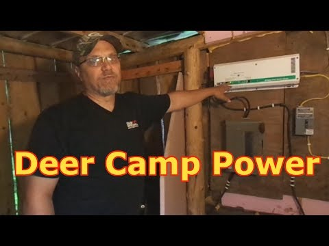 Off-Grid Battery Power