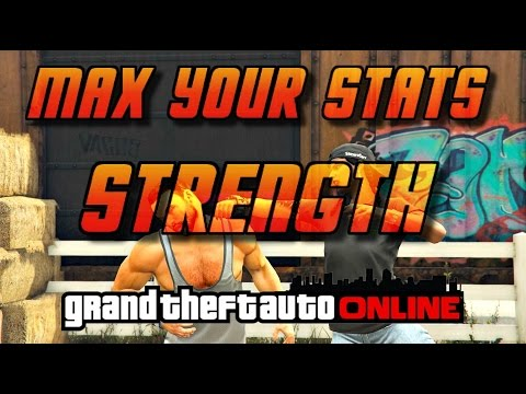GTA Online[GTA5] Max Your Stats - STRENGTH - 3 Fastest Ways!