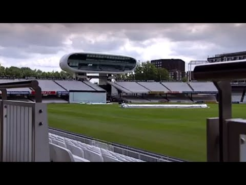 how to draw a cricket stadium