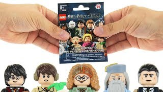 LEGO Harry Potter Minifigure Blind Bag Feel Guide - All 22 Bags Opened!