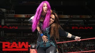 vuclip Sasha Banks & Bayley vs. Alexa Bliss & Nia Jax: Raw, July 3, 2017