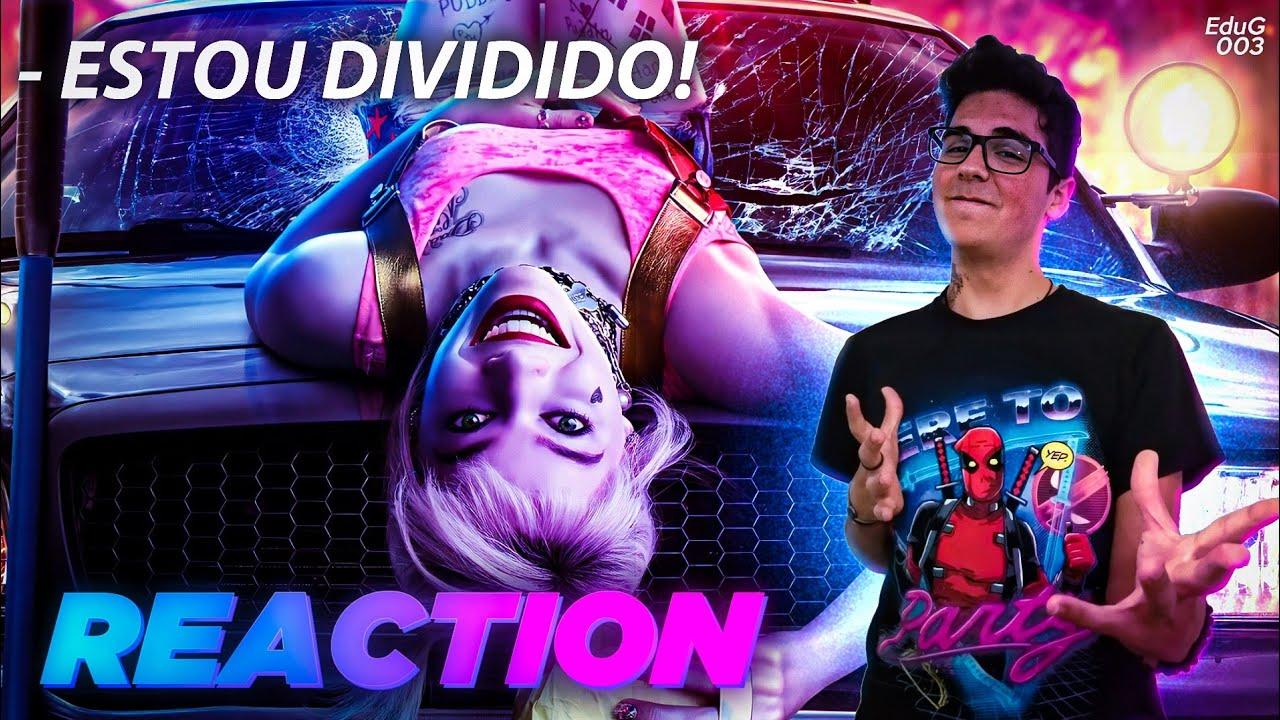 REACTION ao Trailer Oficial de AVES DE RAPINA... ou melhor, de ARLEQUINA!