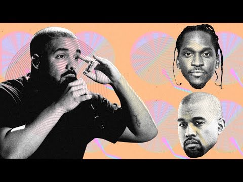 Kanye West Gave Pusha T all the Info for his Drake Diss after Drake went to Wyoming to write for him