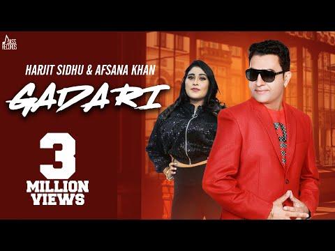 Gadari | ( Full Song) | Harjit Sidhu & Afsana Khan | New Punjabi Songs 2019 | Jass Records