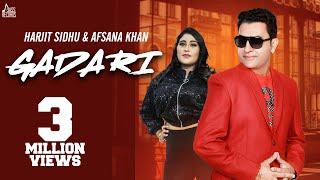 Gadari (Harjit Sidhu, Afsana Khan) Mp3 Song Download