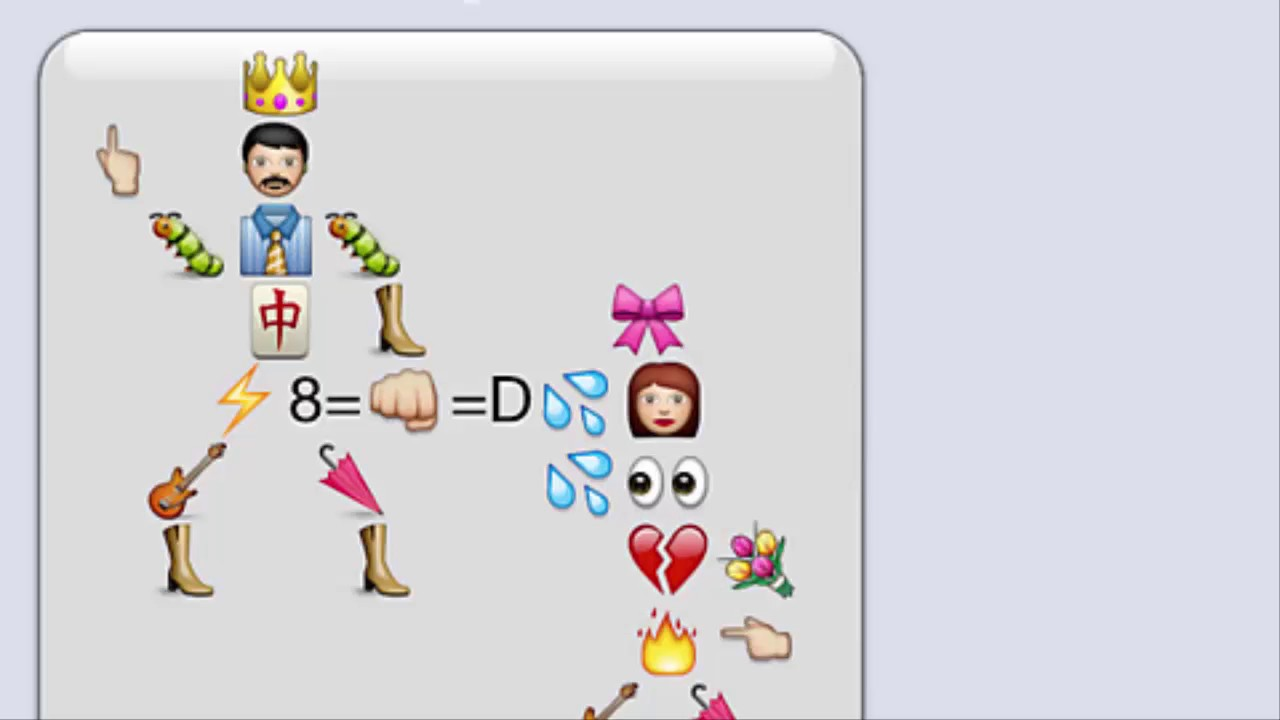 Funny things to do with emojis