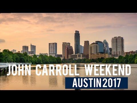 John Carroll Weekend 2017 in Austin, Texas