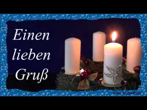 Grüße Zum 1. Advent Video