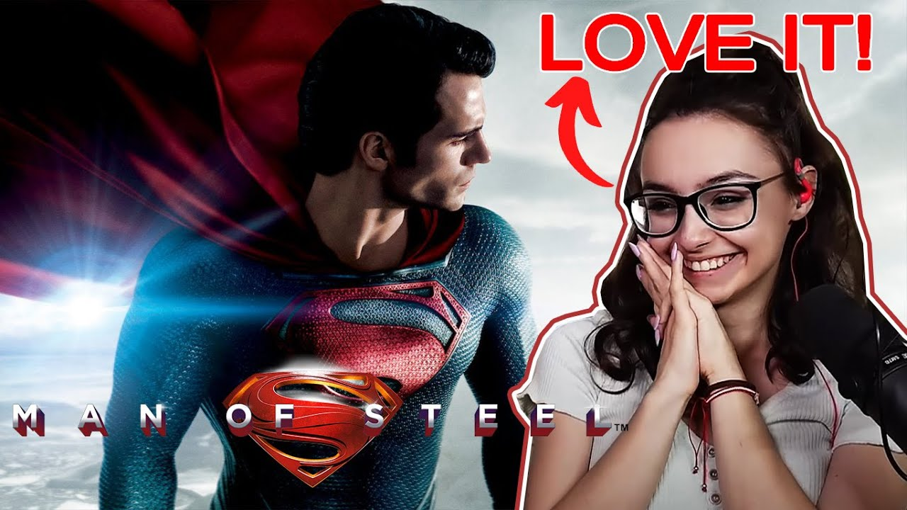 SUPERMAN may be my favorite SUPERHERO now! Man of Steel (2013) REACTION
