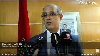 Déclaration de M. Mohamed ACHIQ suite à son installation en tant que DG de l'ANAPEC