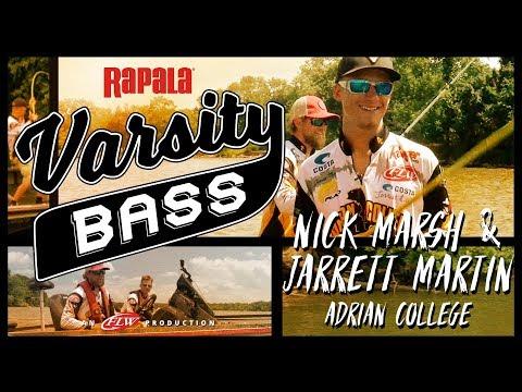 Rapala Varsity Bass Episode 3: Nick Marsh & Jarrett Martin // Adrian College on the Potomac River