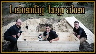 ✝️ Survival Mattin wird lebendig begraben ✝️ - Making of / behind the scenes