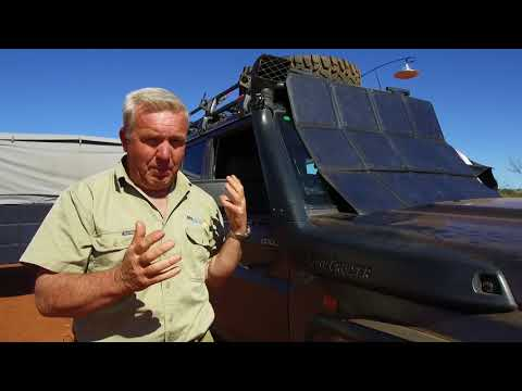 My Aussie Travel Guide demonstrate how they keep their batteries topped up using REDARC solar