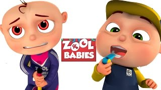 Zool Babies Playing Pole Jump  Zool Babies Series  Cartoon Animation For Children
