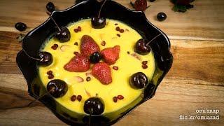 ফ্রুট কাস্টার্ড   Bangla Fruit Custard   Vegetarian Custard
