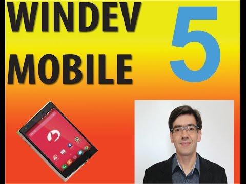 aula 6144 windev mobile   Configuration ANDROID mode UNICODE ANSI
