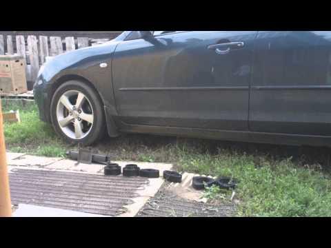 Mazda 3 увеличиваем клиренс