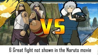 6 Great fight not shown in Anime Naruto