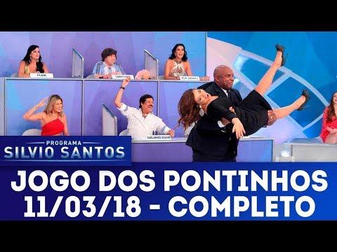 Jogo dos Pontinhos - Completo | Programa Silvio Santos (11/03/18)