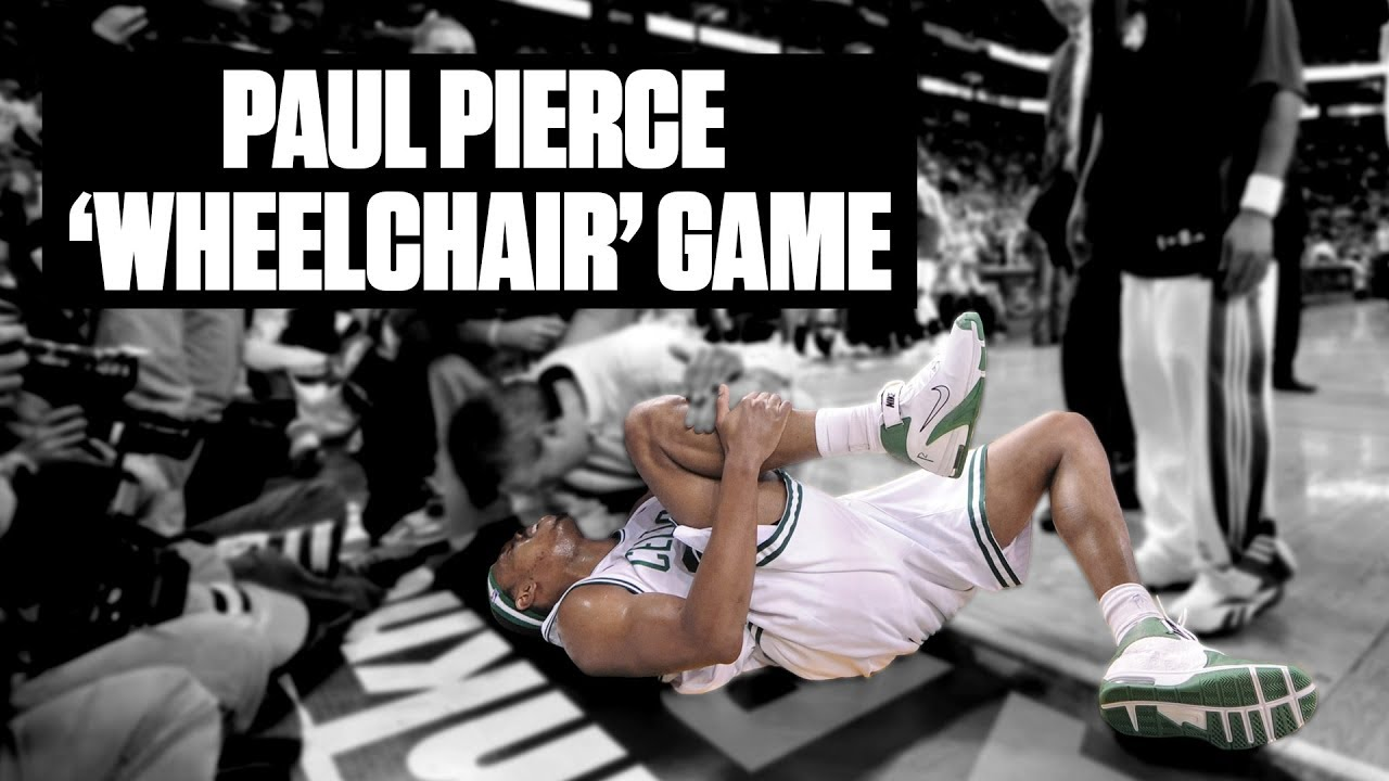 Paul Pierce finally confesses to wheelchair game: 'I just