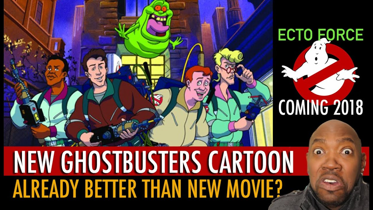 New Ghostbusters Cartoon Animated Series Ecto Force