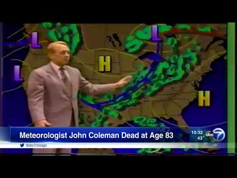 John Coleman, former ABC 7 weatherman, dies at age 83