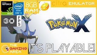 Pokemon X PC Citra Emulator on Low End Laptop
