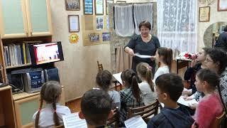 Открытый урок по народному  творчеству  преподавателя фольклорных дисциплин Цыганковой О.В.