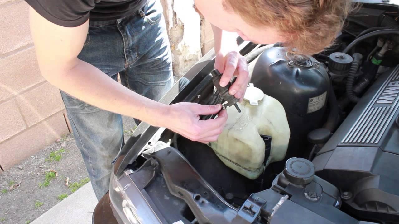 Windshield Washer Repair BMW e36, 328i, 3 series  YouTube