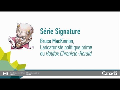 Série Signatures : rencontre avec Bruce MacKinnon