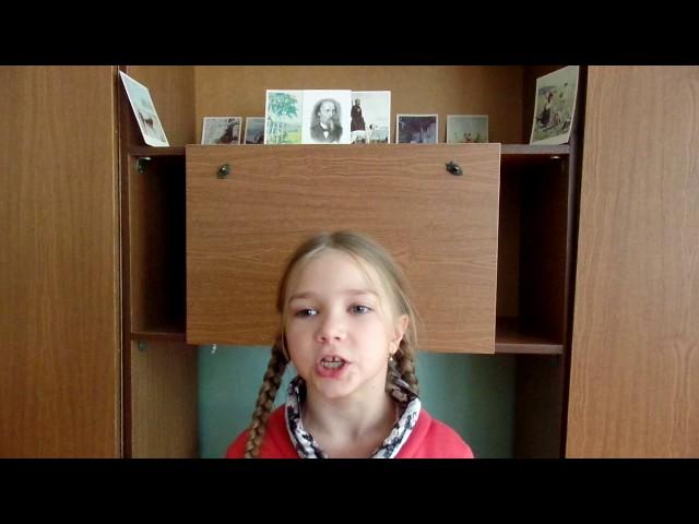 Изображение предпросмотра прочтения – ЭльмираБобренёва читает отрывок изпроизведения «Мороз, Красный нос» Н.А.Некрасова
