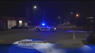 Myrtle Beach police involved in 2nd officer-involved shooting