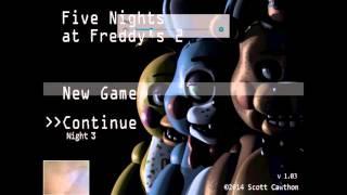 прохождение ФНаФ 2 на планшете 3 ночь +фокси в мастерской +мини игра