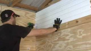 Garage Slat-wall Installation