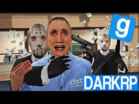 BRAQUAGE DE LA NOUVELLE BANQUE !! - Garry's Mod DarkRP