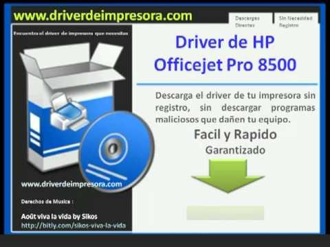 hp officejet pro 8500a drivers